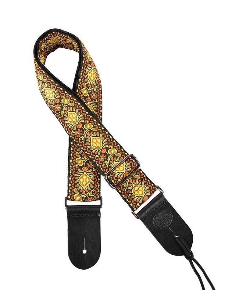 Gaucho GST-184-07 Tracolla in tessuto jacquard per chitarra e basso