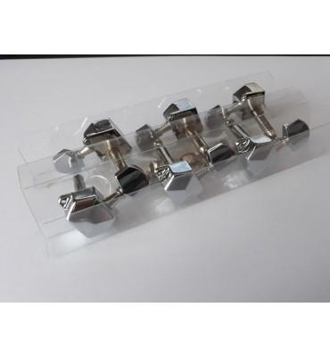 Boston 059-CLR set di 6 meccaniche per chitarra acustica ed elettrica 3L+3R