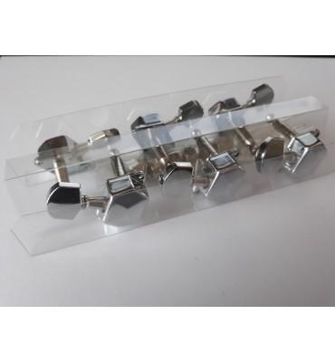 Boston 059-CL set di 6 meccaniche per chitarra acustica ed elettrica