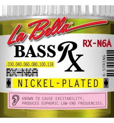 La Bella RX-N6A Muta per basso elettrico 6 corde, 030-118