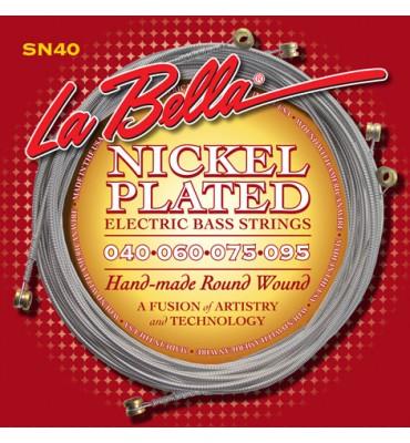 La Bella SN40 Muta per basso elettrico 4 corde, 040-095