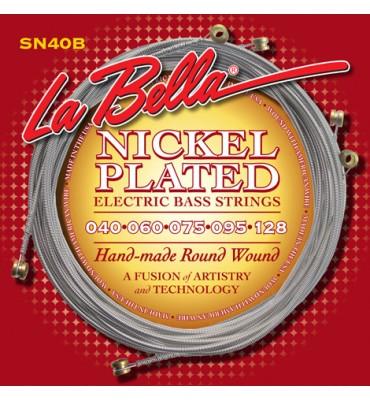 La Bella SN40-B Muta per basso elettrico 5 corde, 040-128