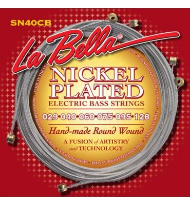 La Bella SN40-CB Muta per basso elettrico 6 corde, 029-128