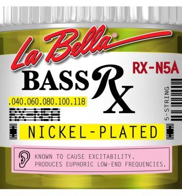 La Bella RX-N5A Muta per basso elettrico 5 corde, 040-118