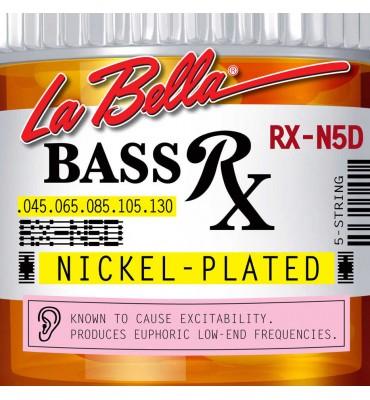 La Bella RX-N5D Muta per basso elettrico 5 corde, 045-130
