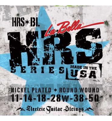 La Bella HRS-BL Muta di corde per chitarra elettrica Blues, 011-050