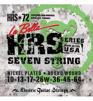 La Bella HRS-72 Muta per chitarra elettrica 7 corde, 010-064