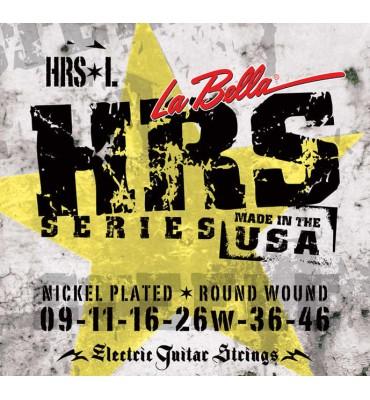 La Bella HRS-L Muta di corde per chitarra elettrica, 009-046