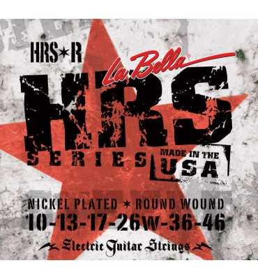 La Bella HRS-R Muta di corde per chitarra elettrica, 010-046