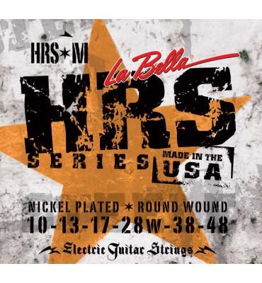 La Bella HRS-M Muta di corde per chitarra elettrica, 010-048