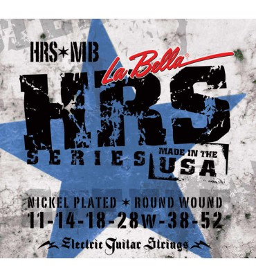 La Bella HRS-MB Muta di corde per chitarra elettrica, 011-052