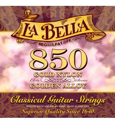La Bella 850 Muta di corde per chitarra classica, tensione media