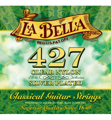 La Bella 427 Muta di corde per chitarra classica, tensione media