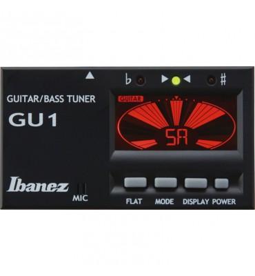 Ibanez GU1BK accordatore digitale per chitarra e basso
