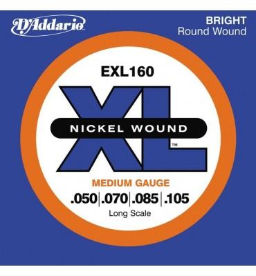D'ADDARIO - EXL160 050/105 Corde per Basso Elettrico