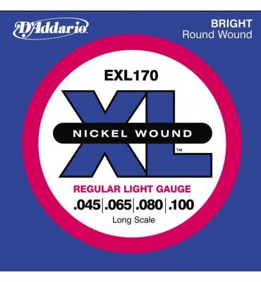 D'ADDARIO EXL170 - 045/100 Corde per Basso Elettrico