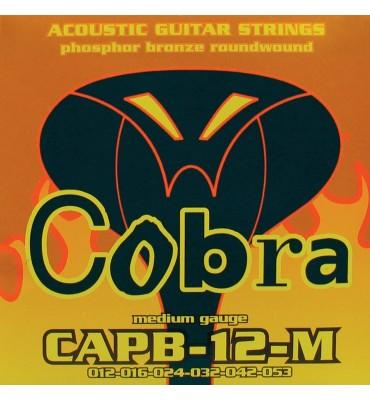 Cobra CAPB-12-M Muta di corde per chitarra acustica 012-053
