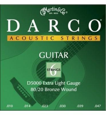 MARTIN DARCO D5000 - 010/047 Corde per Chitarra Acustica