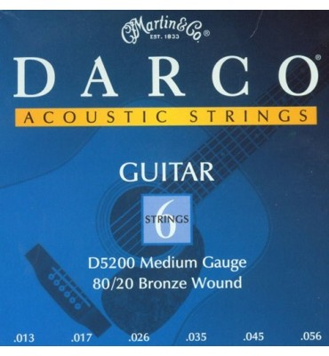 MARTIN DARCO D5200 013/056 Corde per Chitarra Acustica