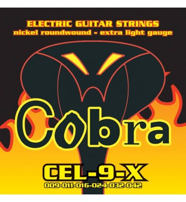 Cobra CEL-9-X Muta di corde per chitarra elettrica 009-042