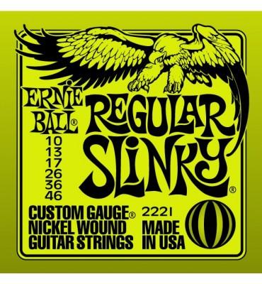 ERNIE BALL Regular Slinky 2221 - 010-046 Corde per Chitarra Elettrica