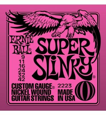 ERNIE BALL Super Slinky 2223 - 009-042 Corde per Chitarra Elettrica
