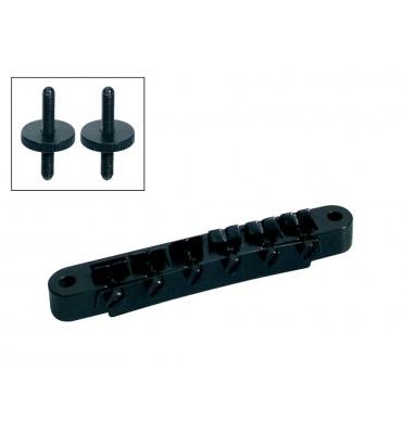 Boston B-161-B Ponte per chitarra elettrica tune o matic colore nero