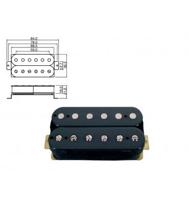 Boston PU-50-RBK pickup humbucker per chitarra elettrica