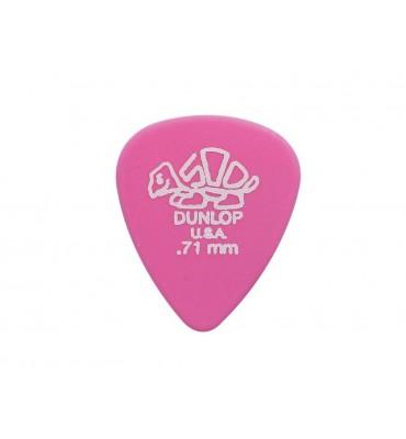 Dunlop 41-R-71/S Delrin Set di plettri per chitarra 12pz
