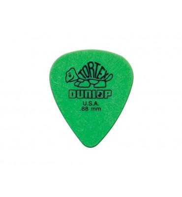 Dunlop 418-P-88 Tortex kit 12 plettri in nylon per chitarra 0,88mm