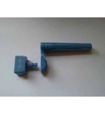 Boston STW-20-BL Avvolgicorde per chitarra con inserto per avvitatore colore blu