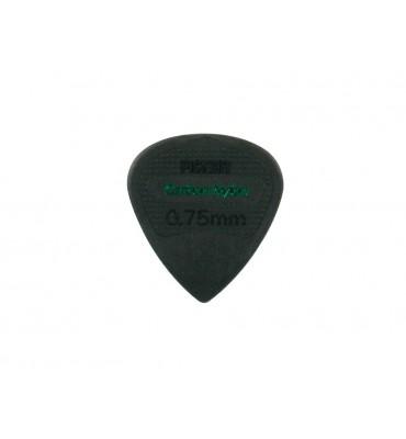 Pickboy GP200-075 set da 12 plettri per chitarra 0,75mm Edge Carbon Nylon