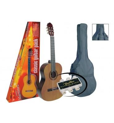A.MARTINEZ MTC-080-P Kit chitarra classica 4/4