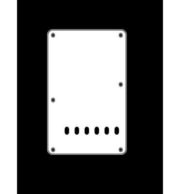Boston BP-313-W Backplate tremolo piastra coprimolle per chitarra 86x138mm