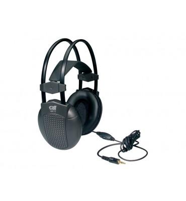 Gatt Audio HP-7 cuffia stereo con auricolari larghi e adattatore jack