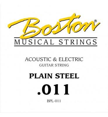 Boston BPL-011 corda singola per chitarra acustica ed elettrica 011