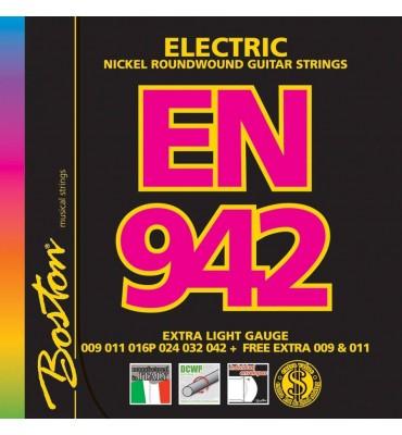 Boston EN-942 Muta di corde per chitarra elettrica 009/042