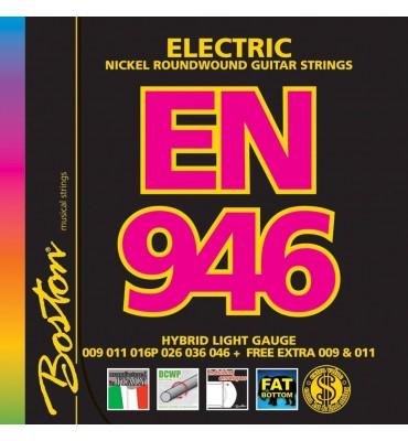 Boston EN-946 Muta di corde per chitarra elettrica 009/046