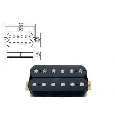 Boston PU-50-FBK pickup humbucker per chitarra elettrica