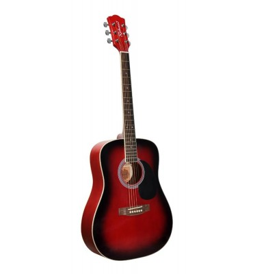 Richwood RD-10-RS chitarra acustica rosso sfumato