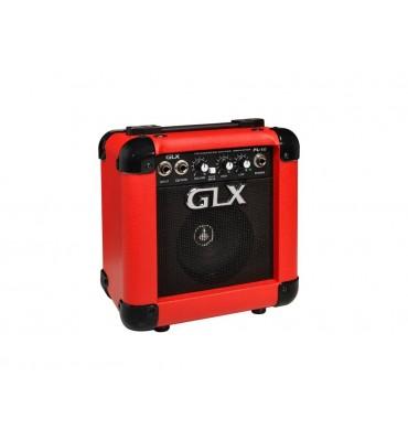 GLX PL-10-RD amplificatore combo per chitarra elettrica 10W