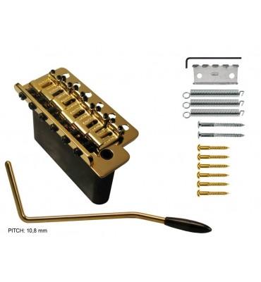 Wilkinson T-WVC-G Ponte tremolo per chitarra elettrica colore oro