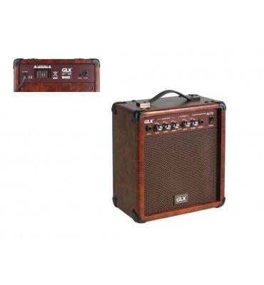 GLX AC-15 amplificatore combo per chitarra acustica 15W con Chorus
