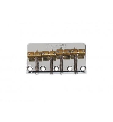 Wilkinson BB-WBBC-N Ponte per basso elettrico 4 corde con sellette in ottone