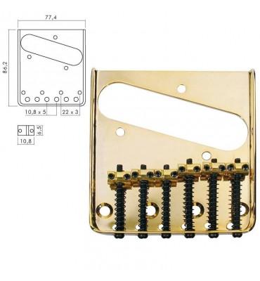 Boston T-40-G Ponte per chitarra elettrica modello Telecaster