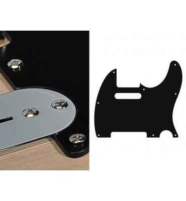Boston TE-110-B Pickguard Battipenna nero per chitarra modello Telecaster