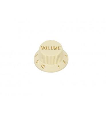 Boston KI-240-V Manopola volume per chitarra e basso colore avorio