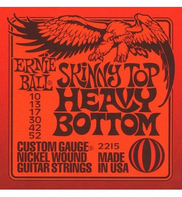 ERNIE BALL Skinny Top Heavy Bottom 2215 - 010-052 Corde per Chitarra Elettrica