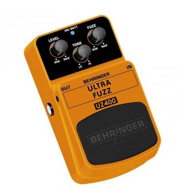 Behringer UZ400 Ultra Fuzz effetto a pedale per chitarra elettrica