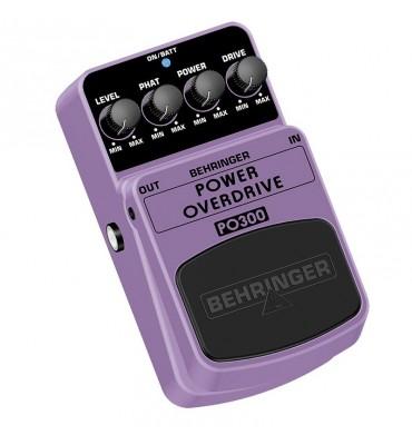 Behringer PO300 Power Overdrive effetto a pedale per chitarra elettrica